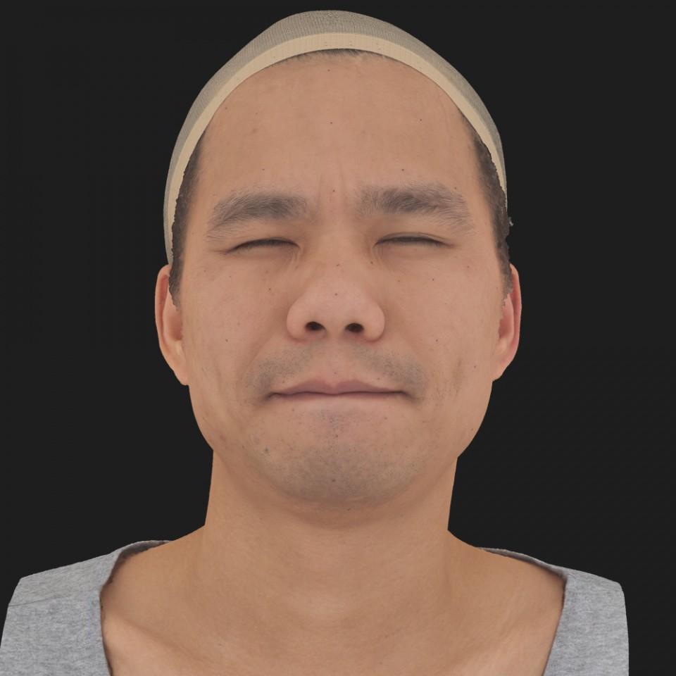 Aaron Megat 15 Phoneme Hard FV-Eye Squint