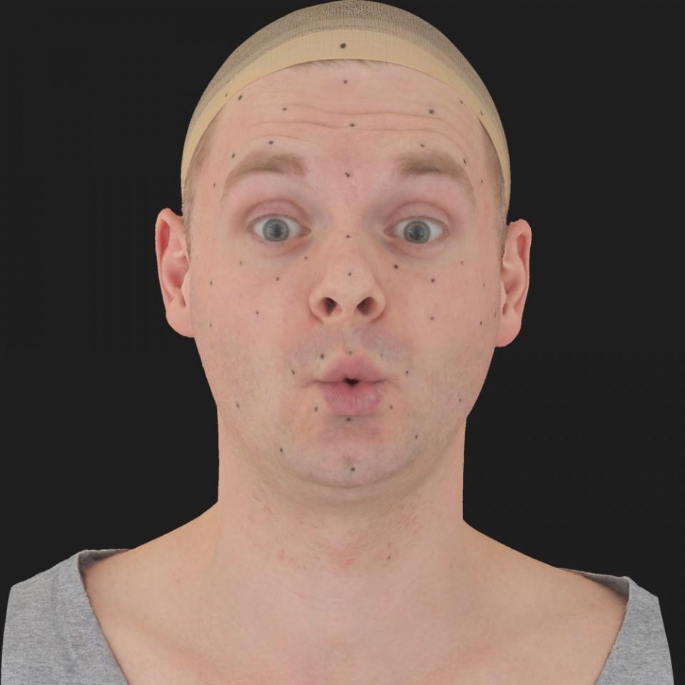 Aron Stewart 11 Phoneme OO-Brow Raise Eyes Open Wide