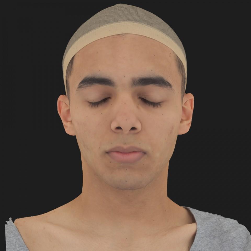Abraham Farhat 02 Neutral-Eyes Closed