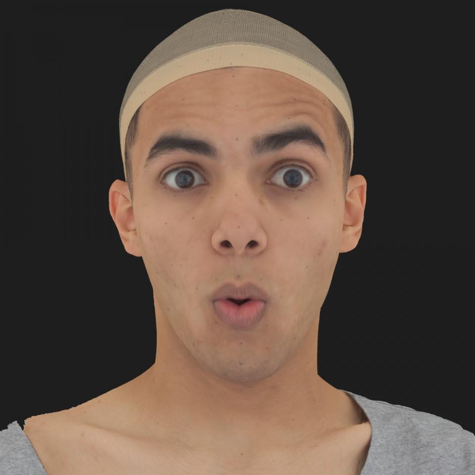 Abraham Farhat 11 Phoneme OO-Brow Raise Eyes Open Wide