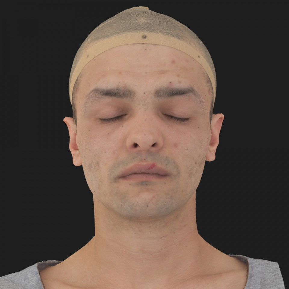 Adam Bones 02 Neutral-Eyes Closed