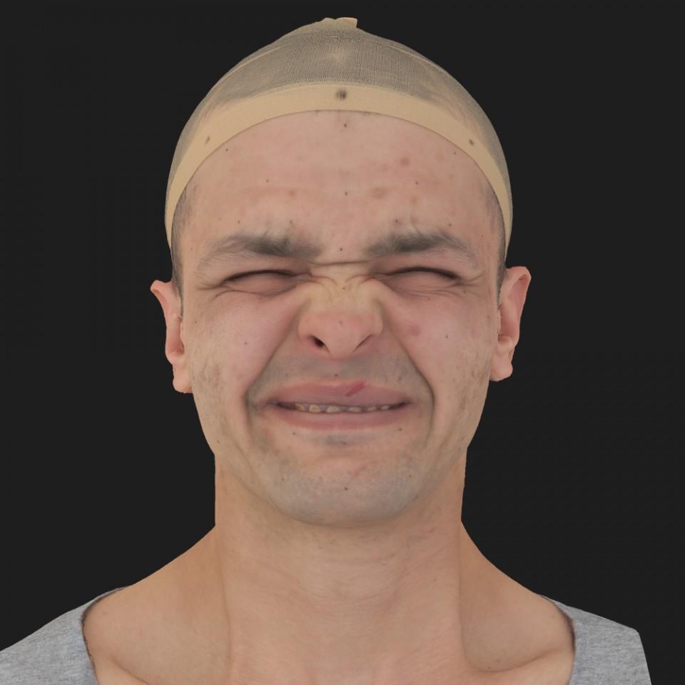 Adam Bones 06 Face Compression