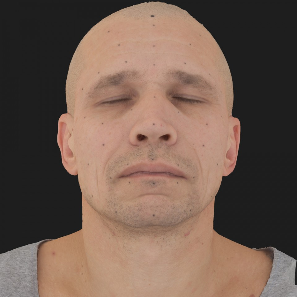 Adam Butler 02 Neutral-Eyes Closed