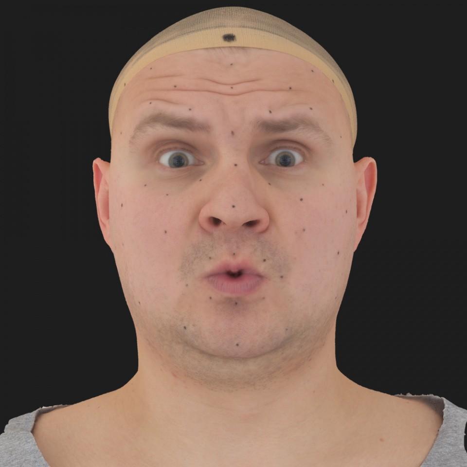 Adam Davis 11 Phoneme OO-Brow Raise Eyes Open Wide