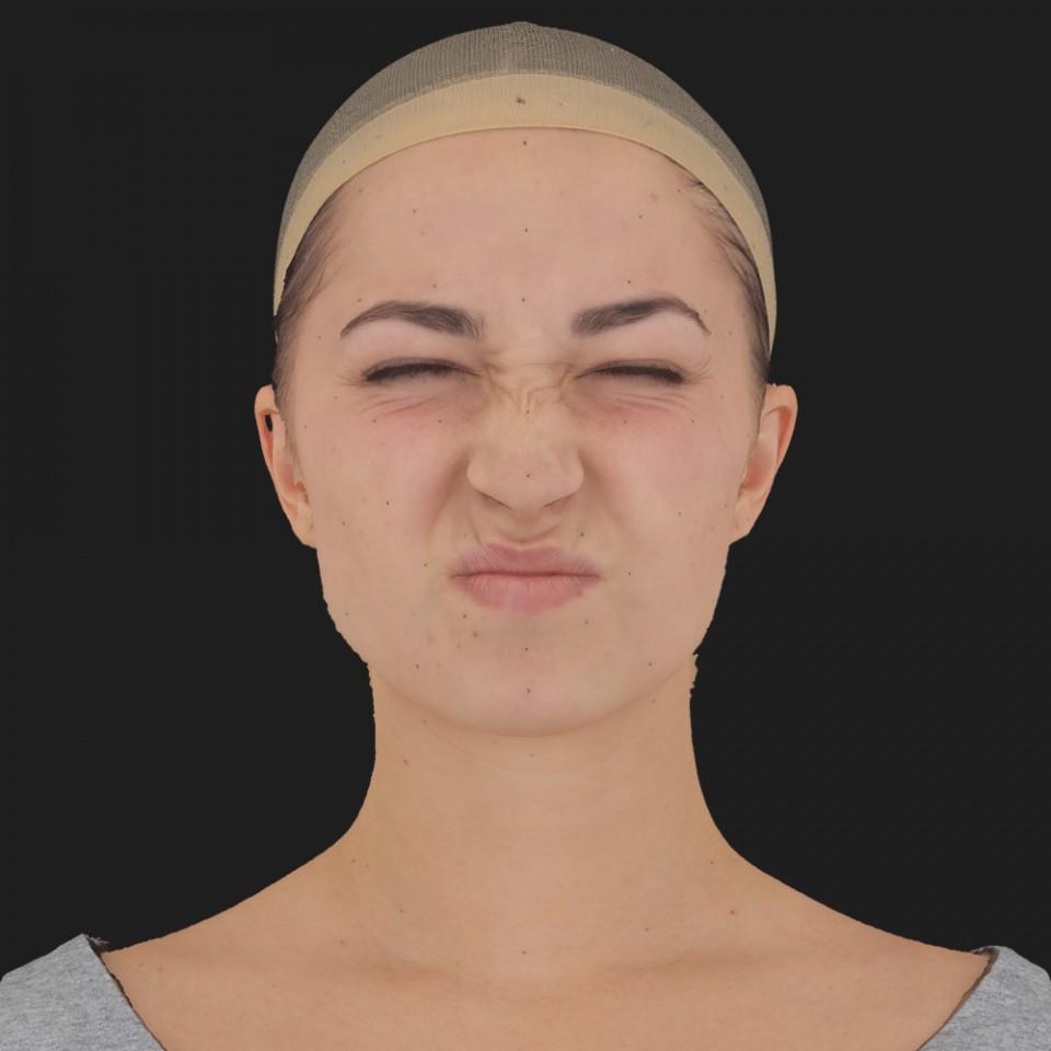 Addison Sanders 06 Face Compression