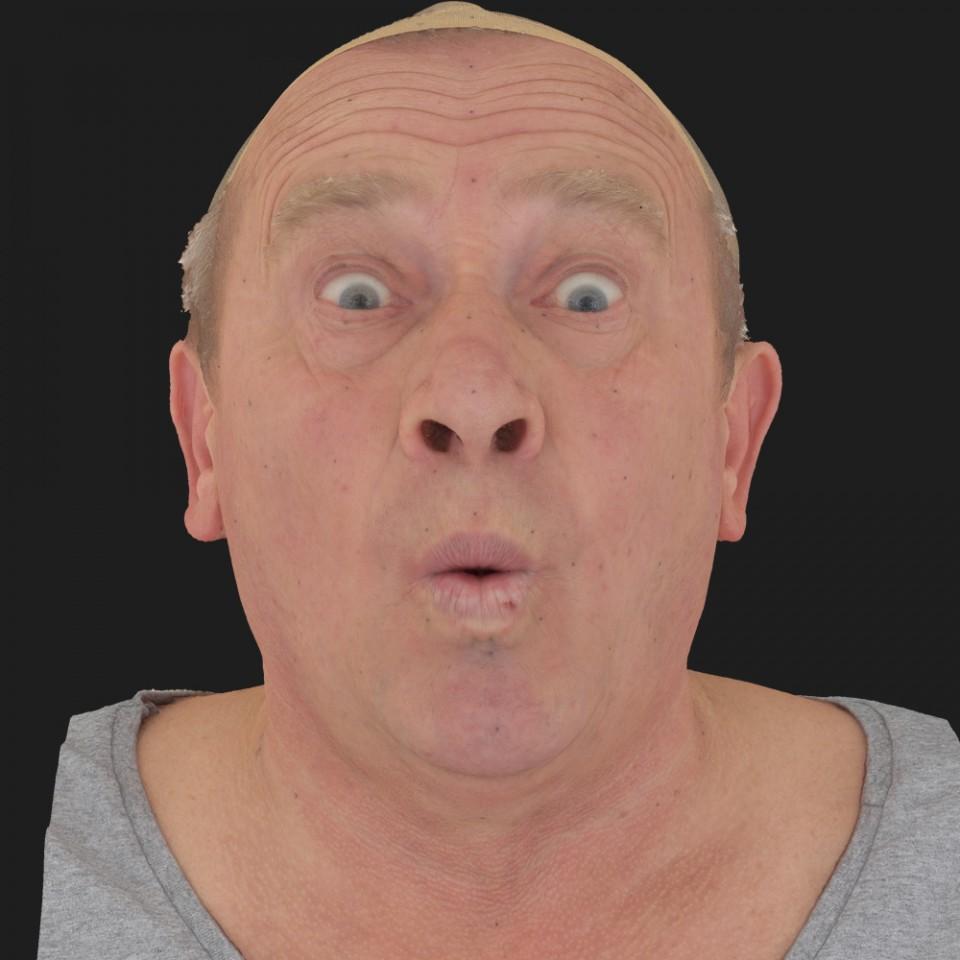Alan Henderson 11 Phoneme OO-Brow Raise Eyes Open Wide