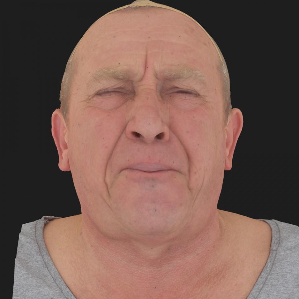 Alan Henderson 15 Phoneme Hard FV-Eye Squint