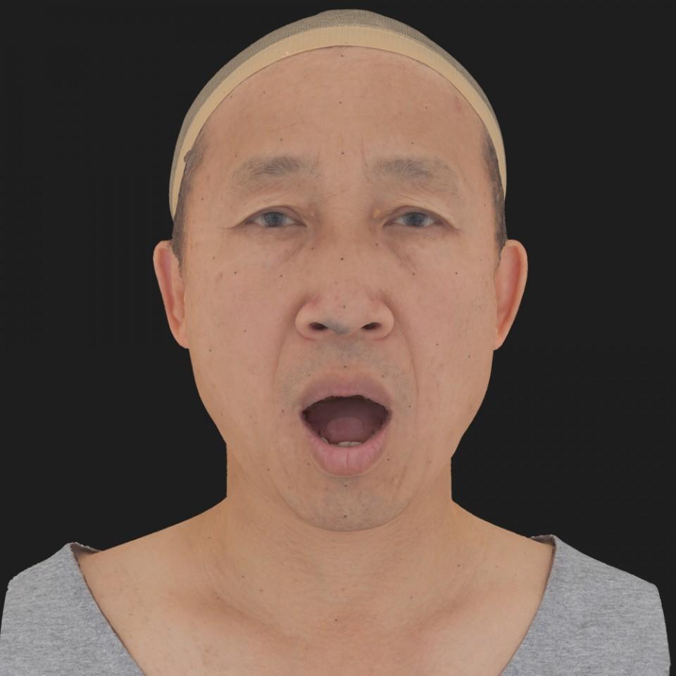 Alan Tanaka 05 Jaw Open