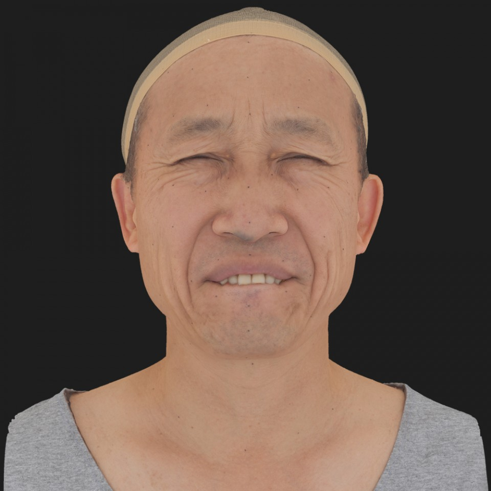 Alan Tanaka 15 Phoneme Hard FV-Eye Squint