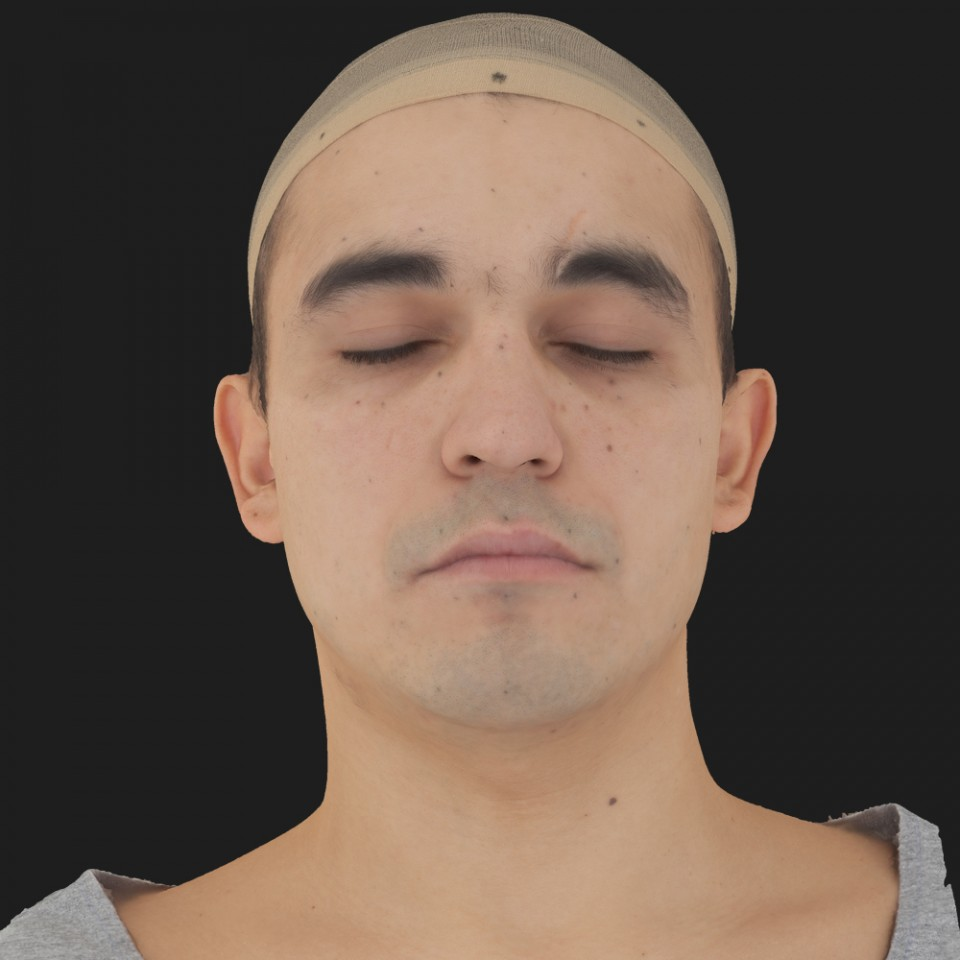 Albert Ramirez 02 Neutral-Eyes Closed