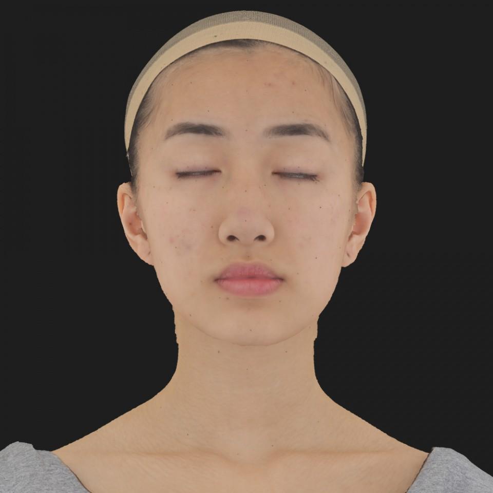 Alexia Hatta 02 Neutral-Eyes Closed
