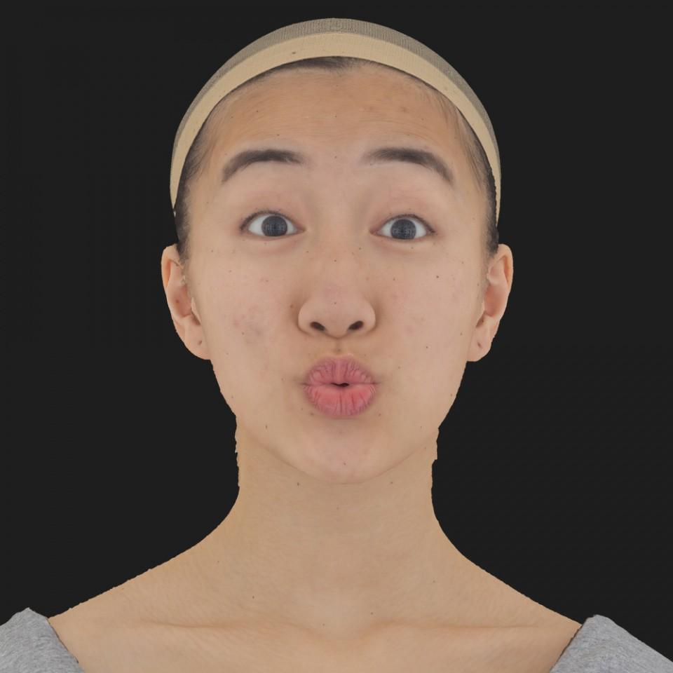 Alexia Hatta 11 Phoneme OO-Brow Raise Eyes Open Wide