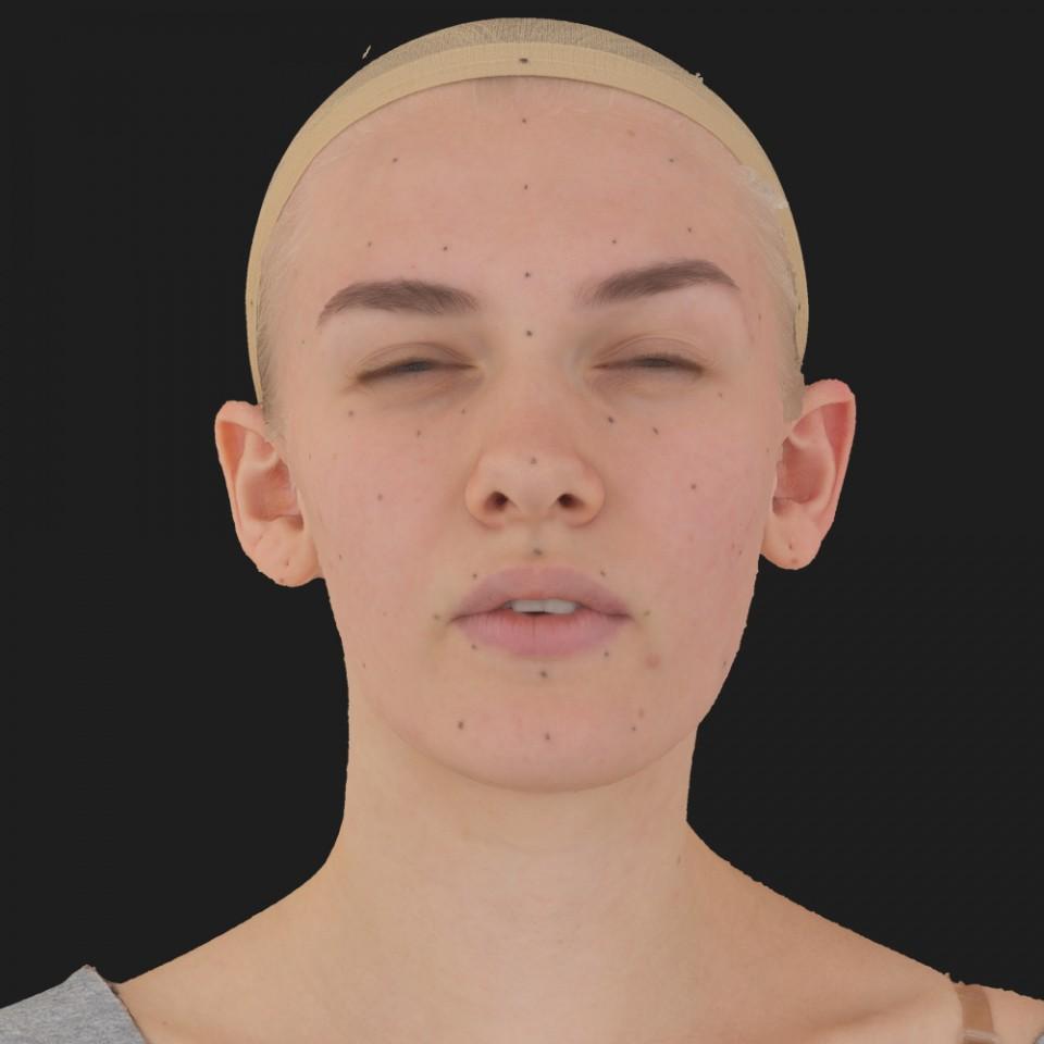 Alice Rivera 15 Phoneme Hard FV-Eye Squint