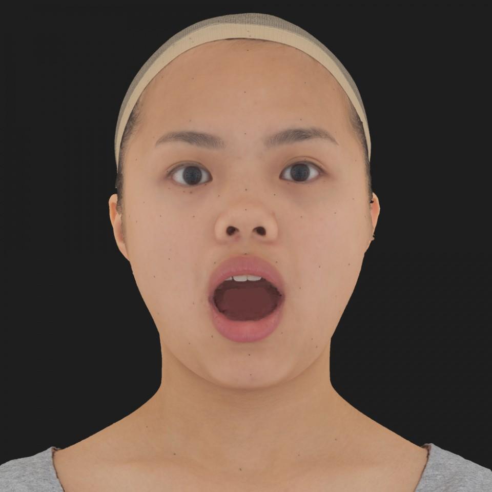 Amber Chun 05 Jaw Open