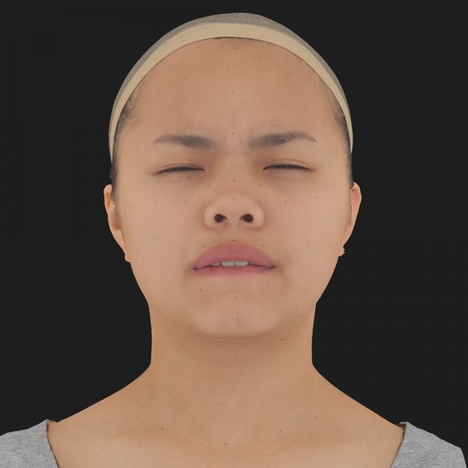 Amber Chun 15 Phoneme Hard FV-Eye Squint