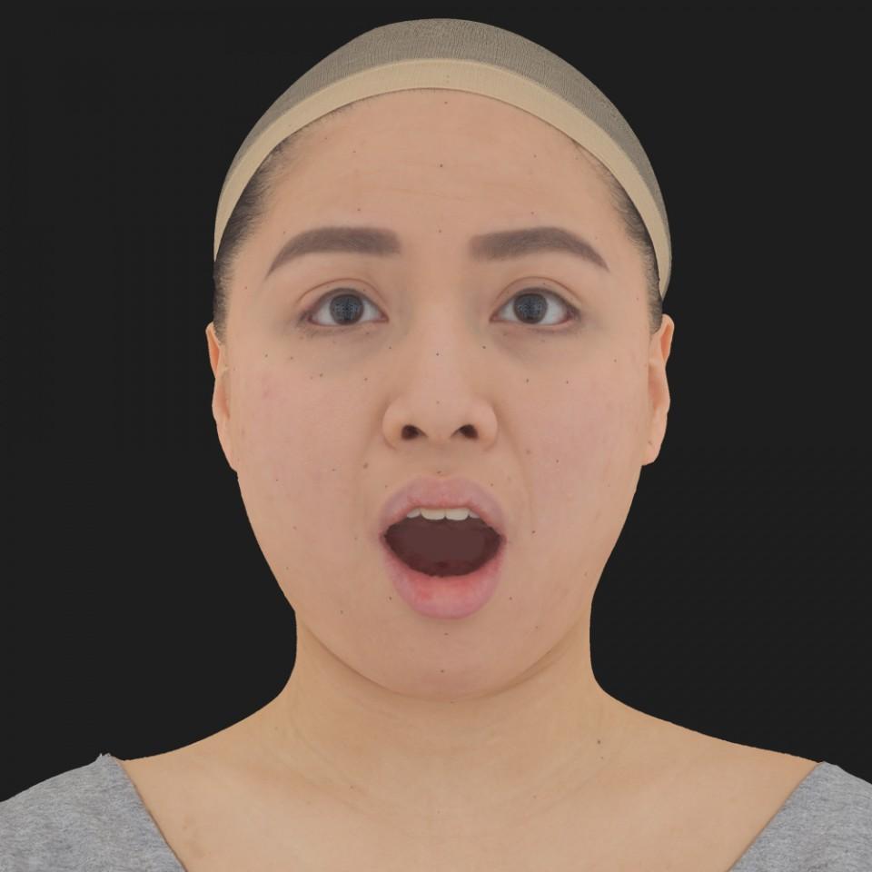 Amelia Han 05 Jaw Open