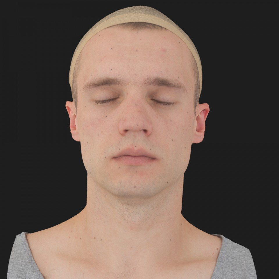 Amos Klein 02 Neutral-Eyes Closed