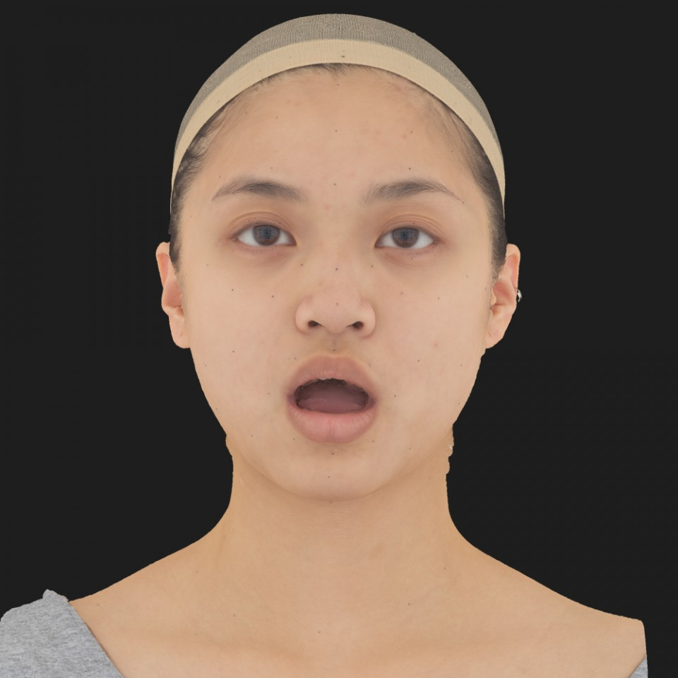 Amy Kamano 05 Jaw Open
