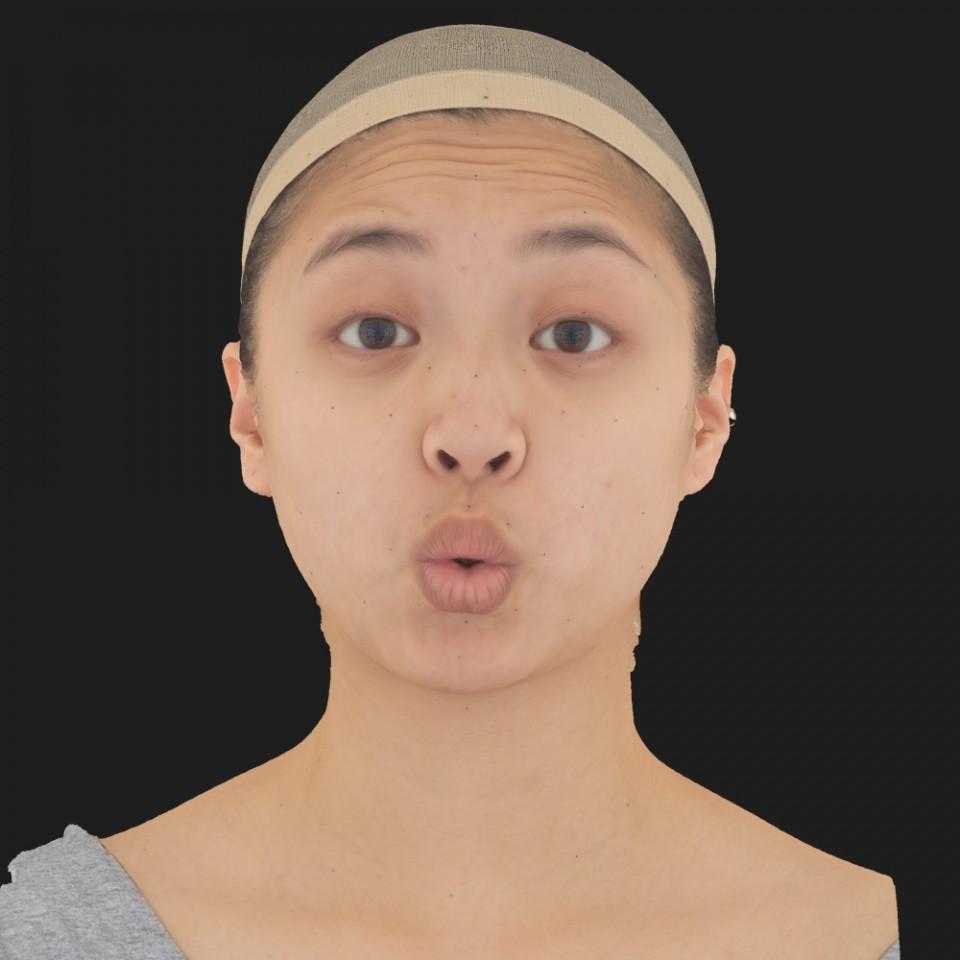 Amy Kamano 11 Phoneme OO-Brow Raise Eyes Open Wide