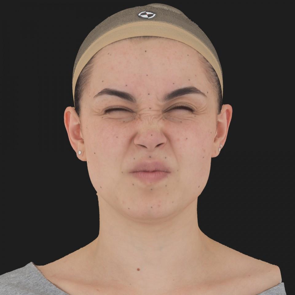 Angelica Collins 06 Face Compression