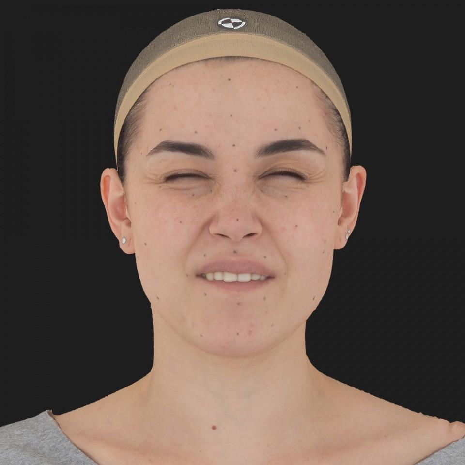 Angelica Collins 15 Phoneme Hard FV-Eye Squint