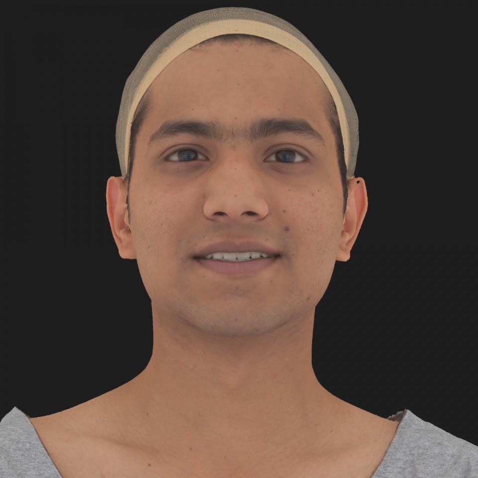 Anil Ansari 04 Smile-Mouth Open