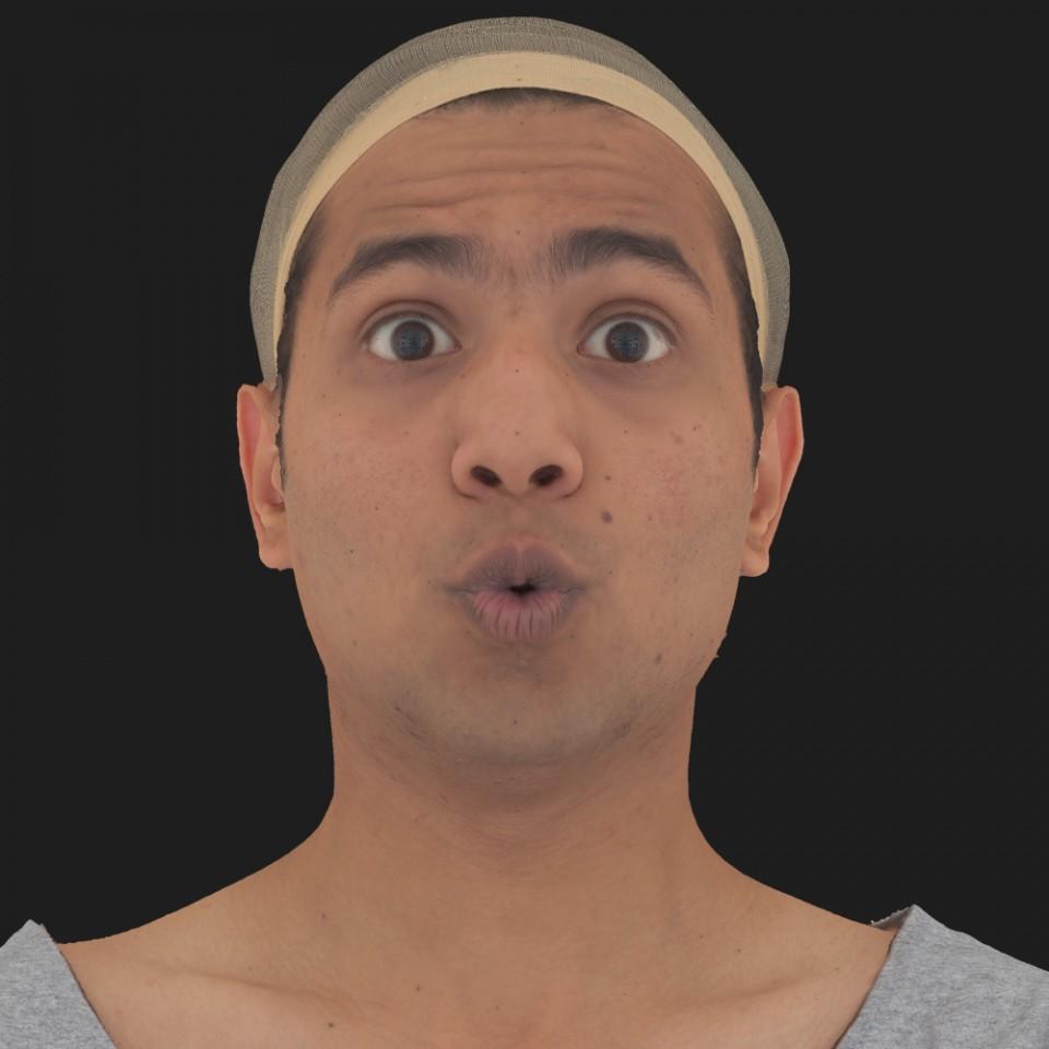 Anil Ansari 11 Phoneme OO-Brow Raise Eyes Open Wide