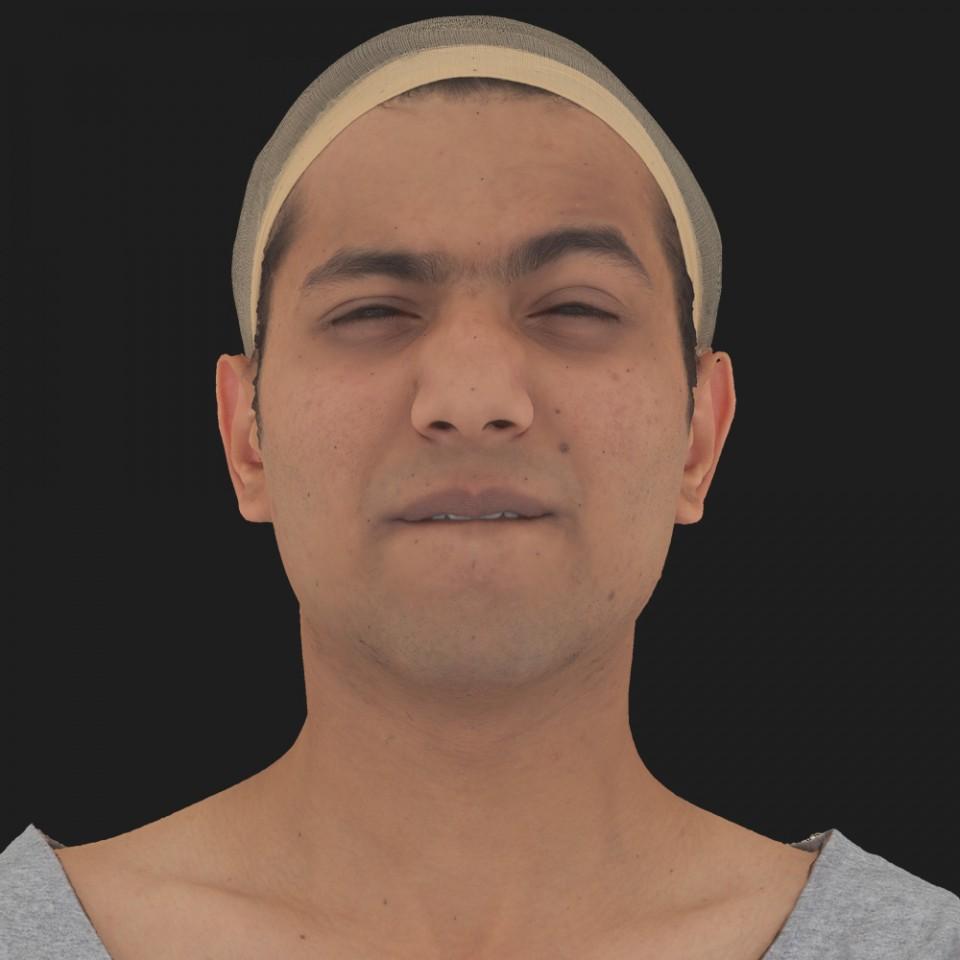 Anil Ansari 15 Phoneme Hard FV-Eye Squint