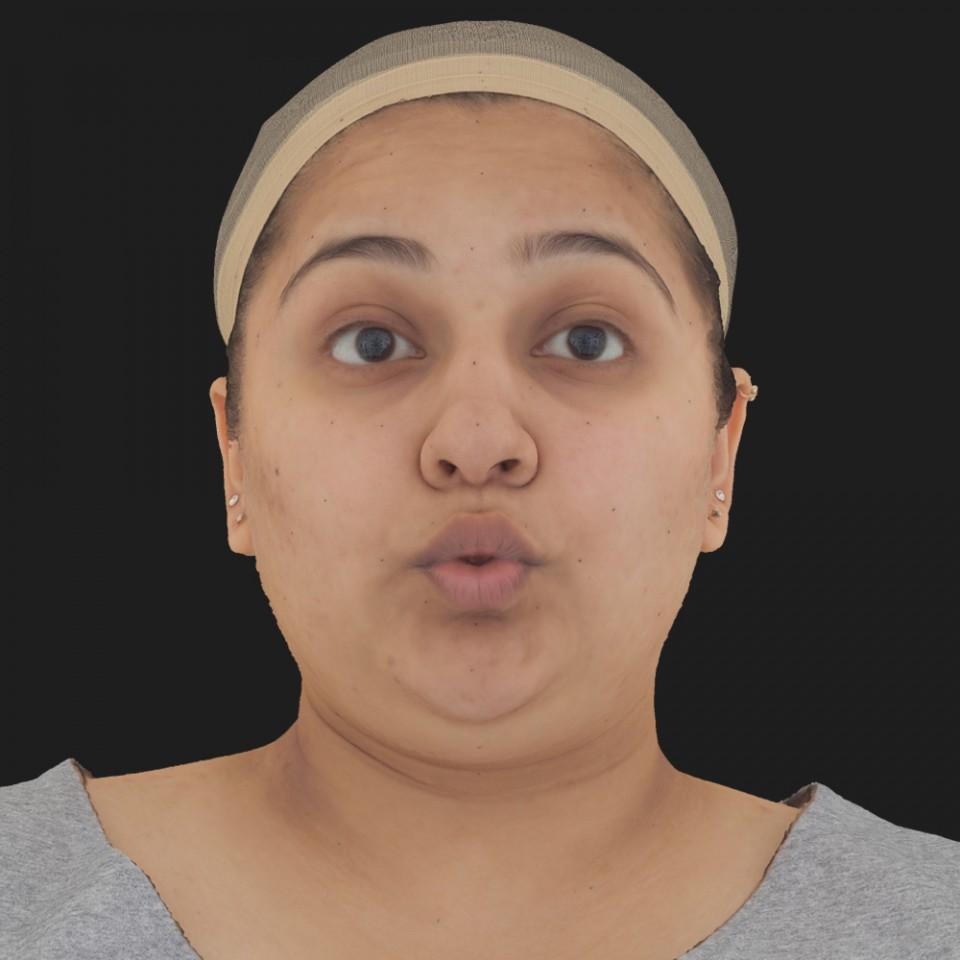 Anita Ghosh 11 Phoneme OO-Brow Raise Eyes Open Wide