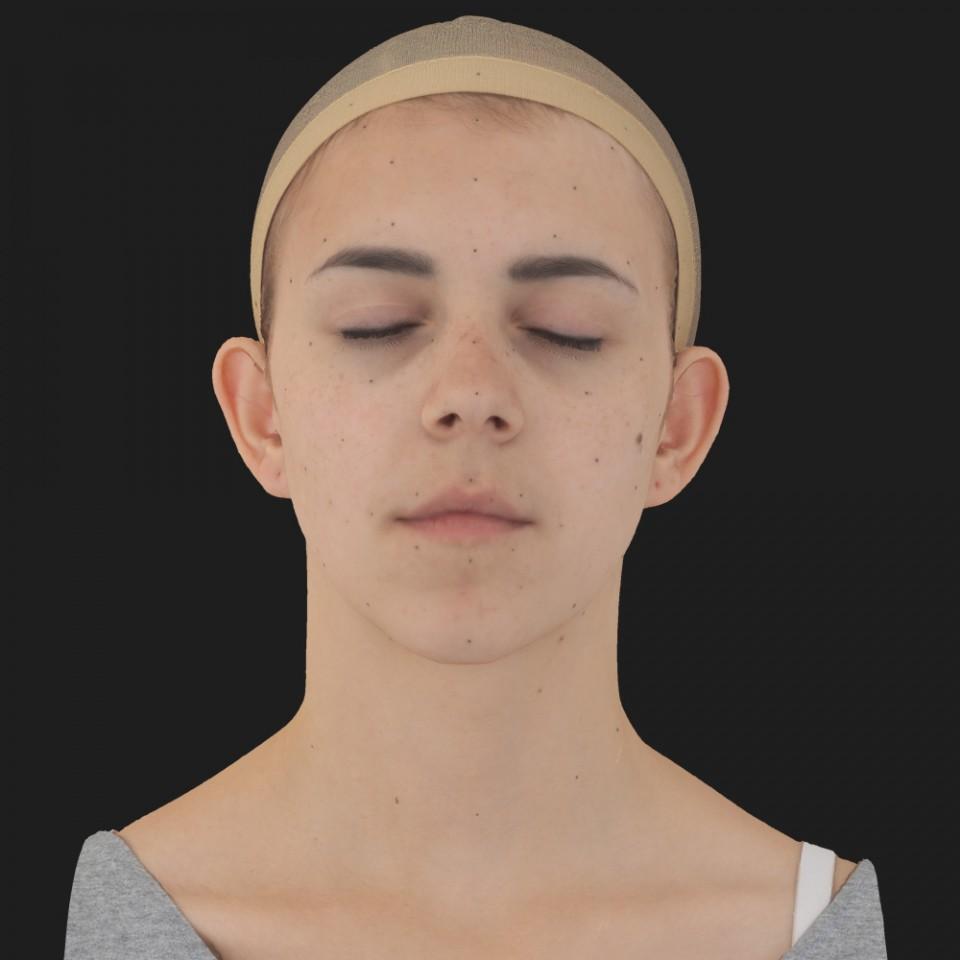 Annette Robbins 02 Neutral-Eyes Closed