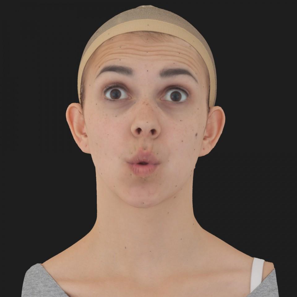 Annette Robbins 11 Phoneme OO-Brow Raise Eyes Open Wide