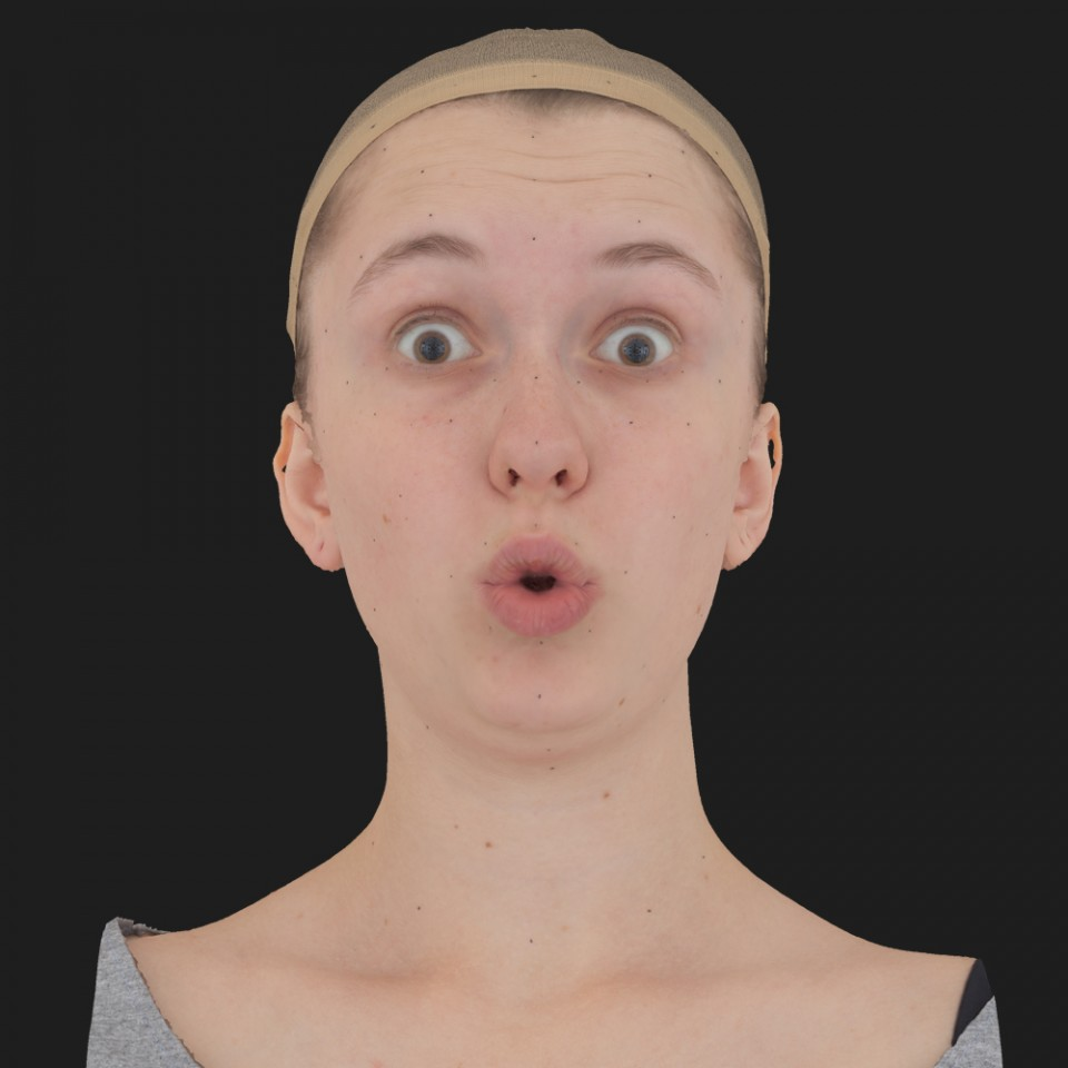 Ashley Telfer 11 Phoneme OO-Brow Raise Eyes Open Wide