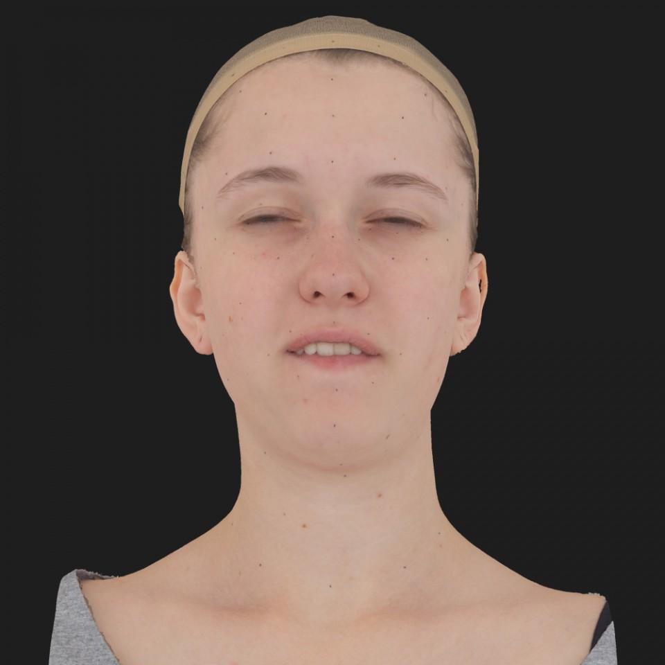 Ashley Telfer 15 Phoneme Hard FV-Eye Squint
