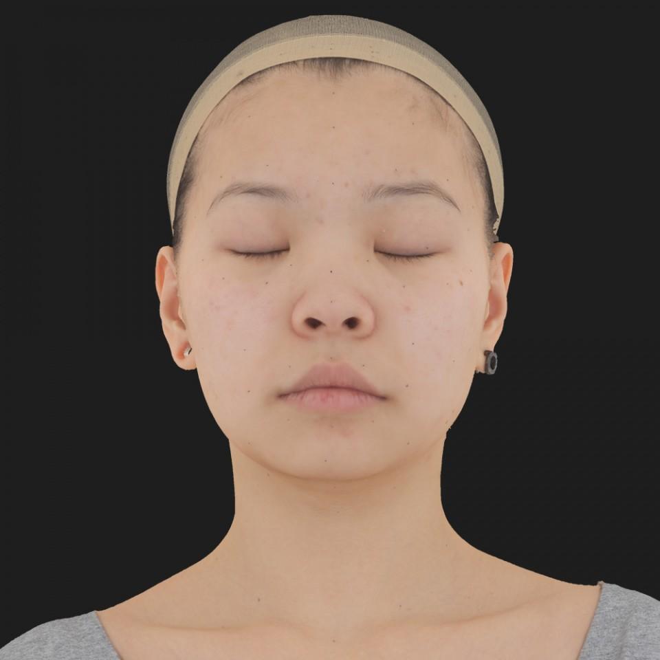 Aubrey Chin 02 Neutral-Eyes Closed