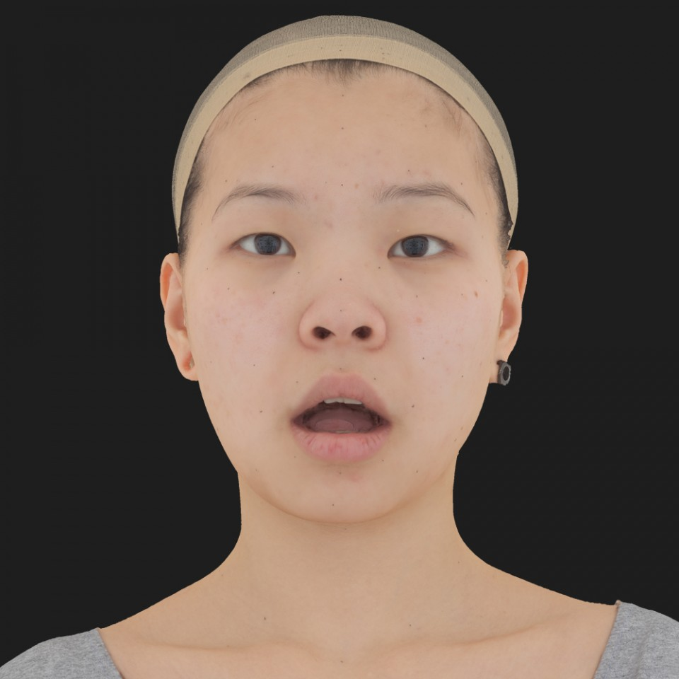 Aubrey Chin 05 Jaw Open