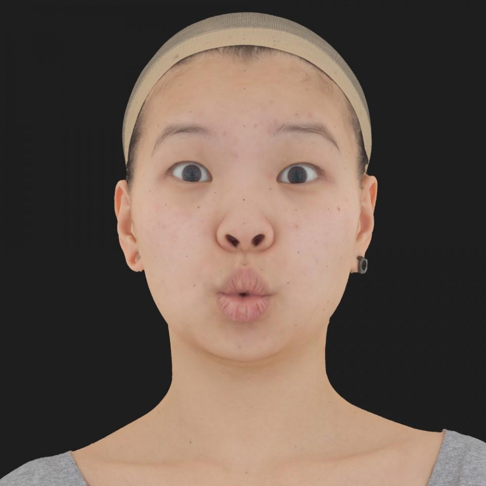 Aubrey Chin 11 Phoneme OO-Brow Raise Eyes Open Wide