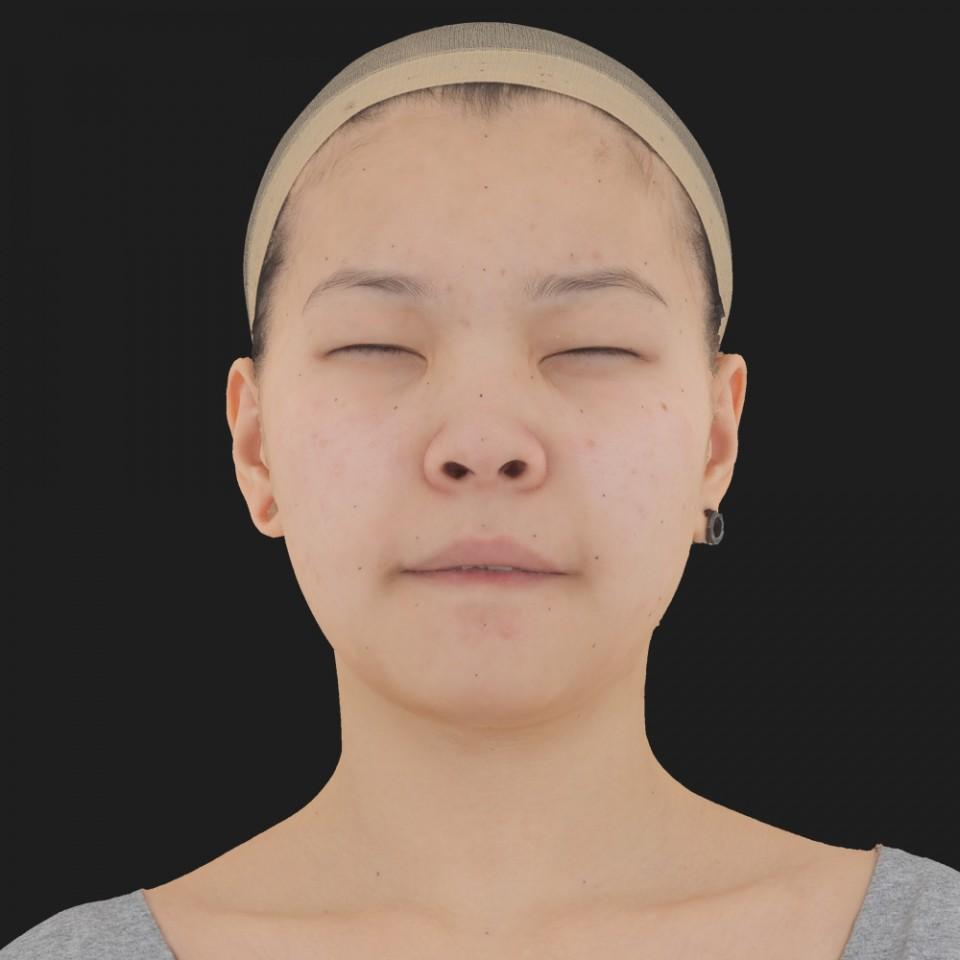 Aubrey Chin 15 Phoneme Hard FV-Eye Squint