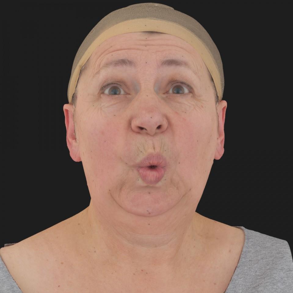 Barbara Price 11 Phoneme OO-Brow Raise Eyes Open Wide