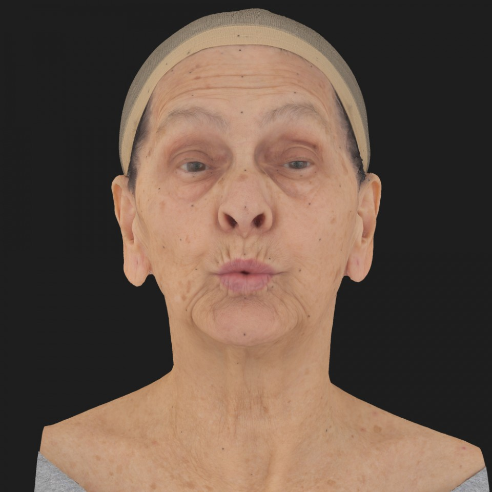 Bertha Horan 11 Phoneme OO-Brow Raise Eyes Open Wide