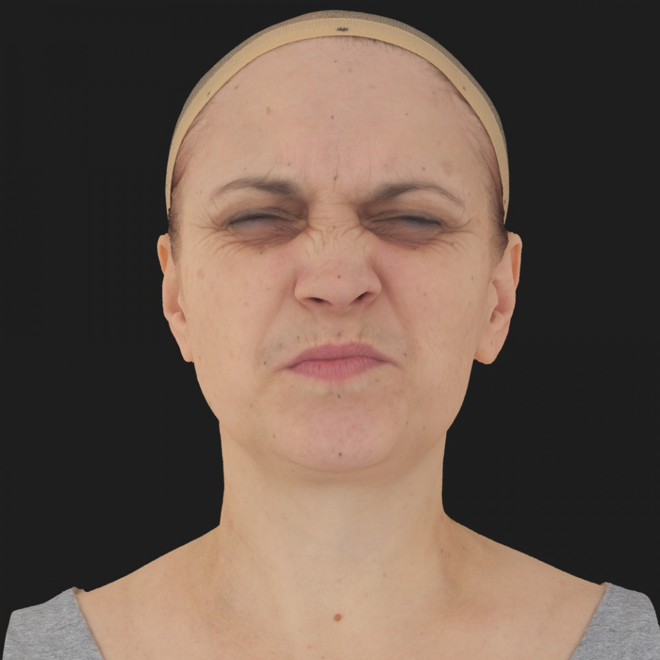 Bonnie Hall 06 Face Compression