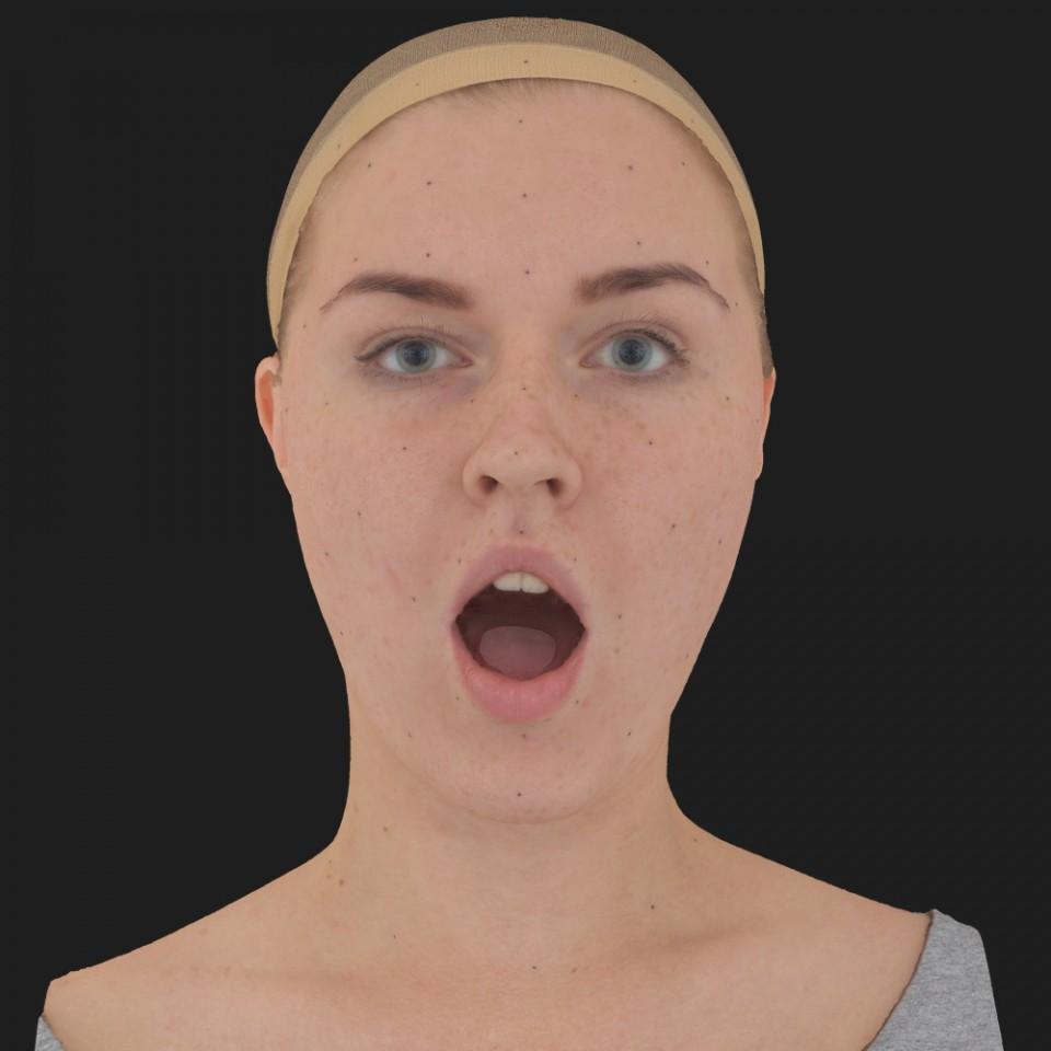 Bonnie Mitchell 05 Jaw Open