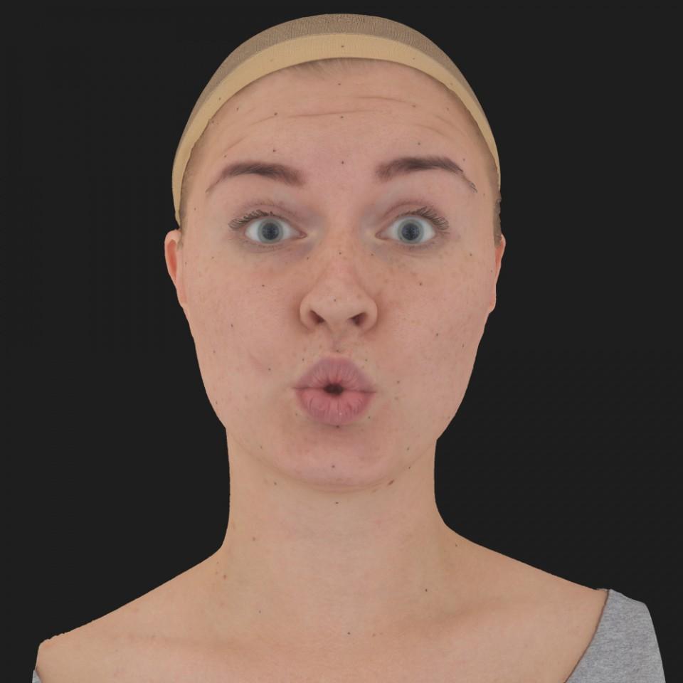 Bonnie Mitchell 11 Phoneme OO-Brow Raise Eyes Open Wide