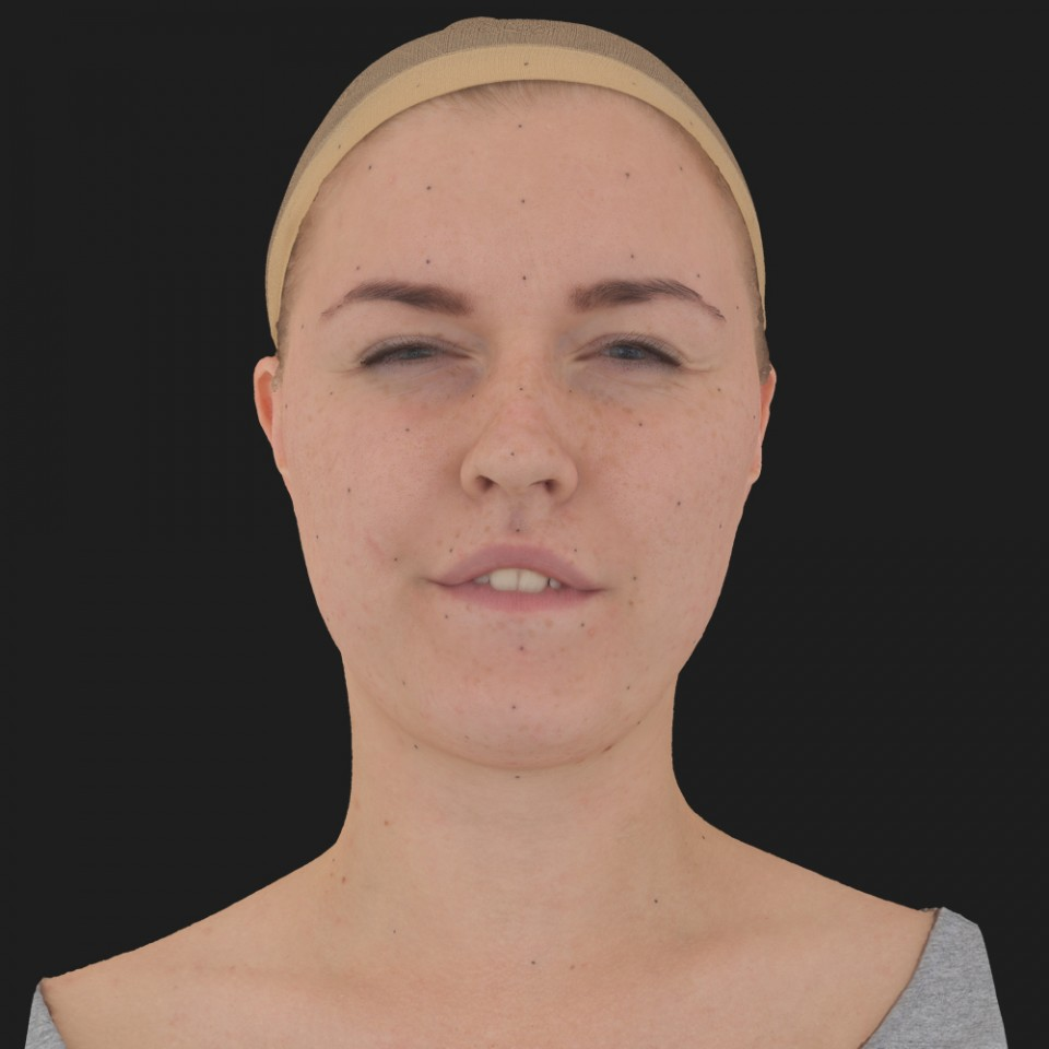 Bonnie Mitchell 15 Phoneme Hard FV-Eye Squint