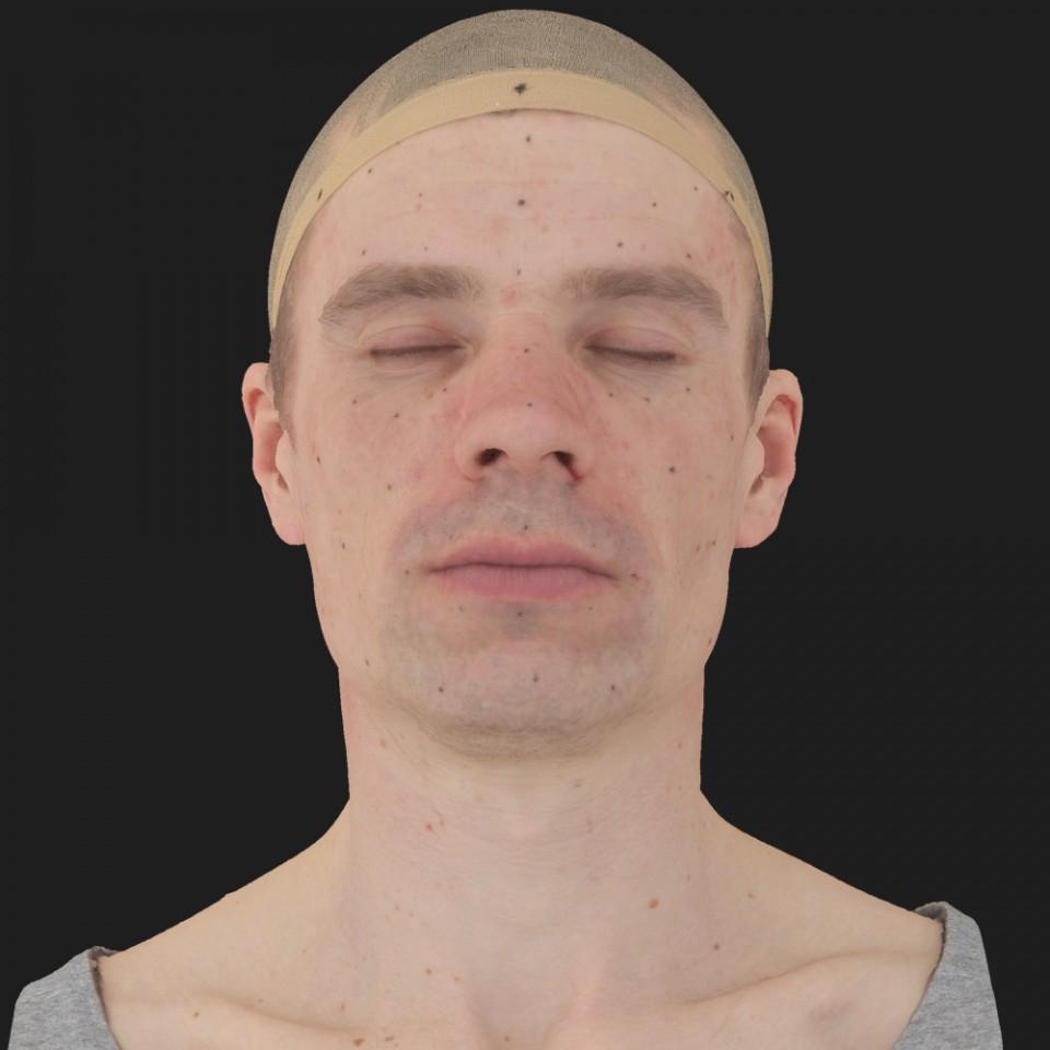 Brandon Perry 02 Neutral-Eyes Closed