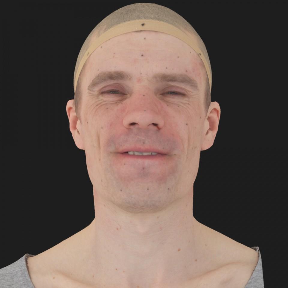 Brandon Perry 15 Phoneme Hard FV-Eye Squint
