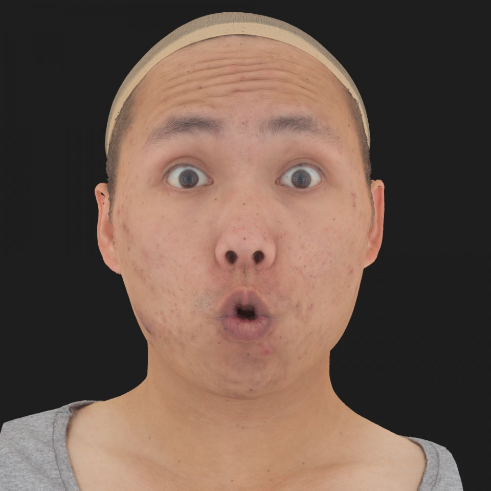 Brandon Yim 11 Phoneme OO-Brow Raise Eyes Open Wide