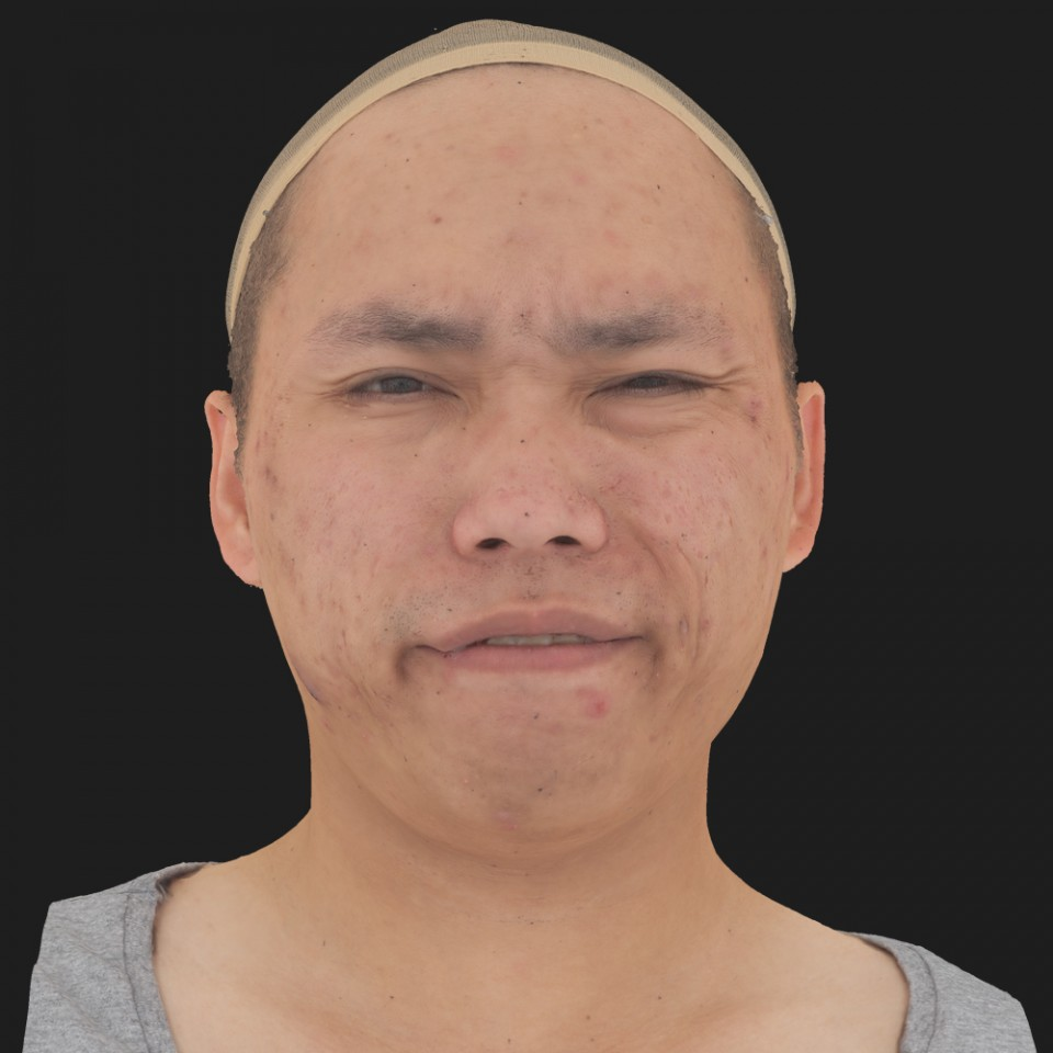 Brandon Yim 15 Phoneme Hard FV-Eye Squint