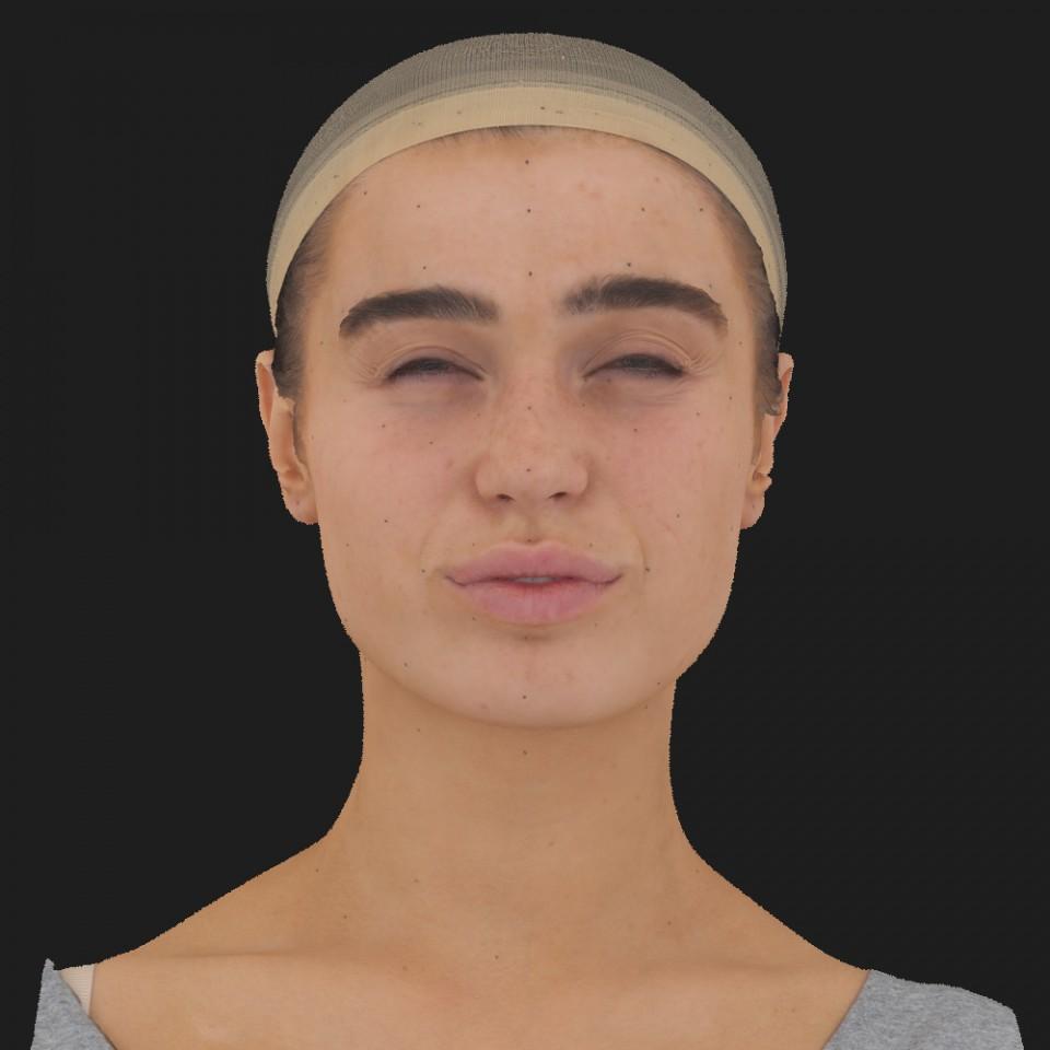 Caroline Abrams 15 Phoneme Hard FV-Eye Squint