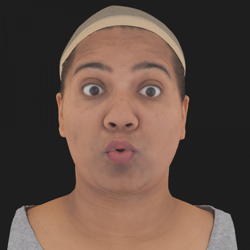 Cathy Lakshmi 11 Phoneme OO-Brow Raise Eyes Open Wide