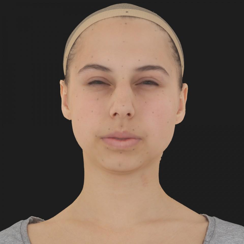 Christina Nelson 15 Phoneme Hard FV-Eye Squint